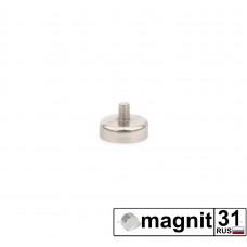 Магнит с винтом С16 сила 5,5 кг.