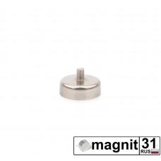 Магнит с винтом С20 сила 9 кг.