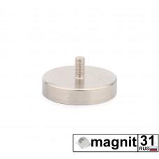 Магнит с винтом С36 сила 41 кг.