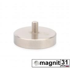 Магнит с винтом С48 сила 81 кг.