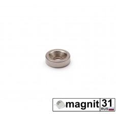 Магнит с зенковкой St-10 сила 2,2 кг.