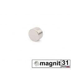 Магнит диск D5x3 мм. сила 0,54 кг.