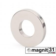 Магнит кольцо К35xd16х5 мм. сила 10 кг.