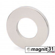 Магнит кольцо К50xd25х5 мм. сила 20 кг.