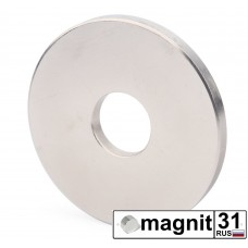 Магнит кольцо К60xd20х5 мм. сила 0,5 кг.