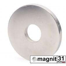 Магнит кольцо К85xd35х8 мм. сила 110 кг.