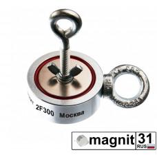 Поисковые магниты двухсторонний F300*2 сила 300 кг.